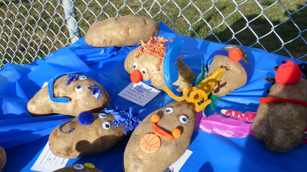 Mr. Potato Head entries Experience Ridgefield 2017 #2