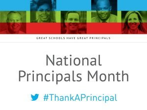 National Principals Month 2019 logo