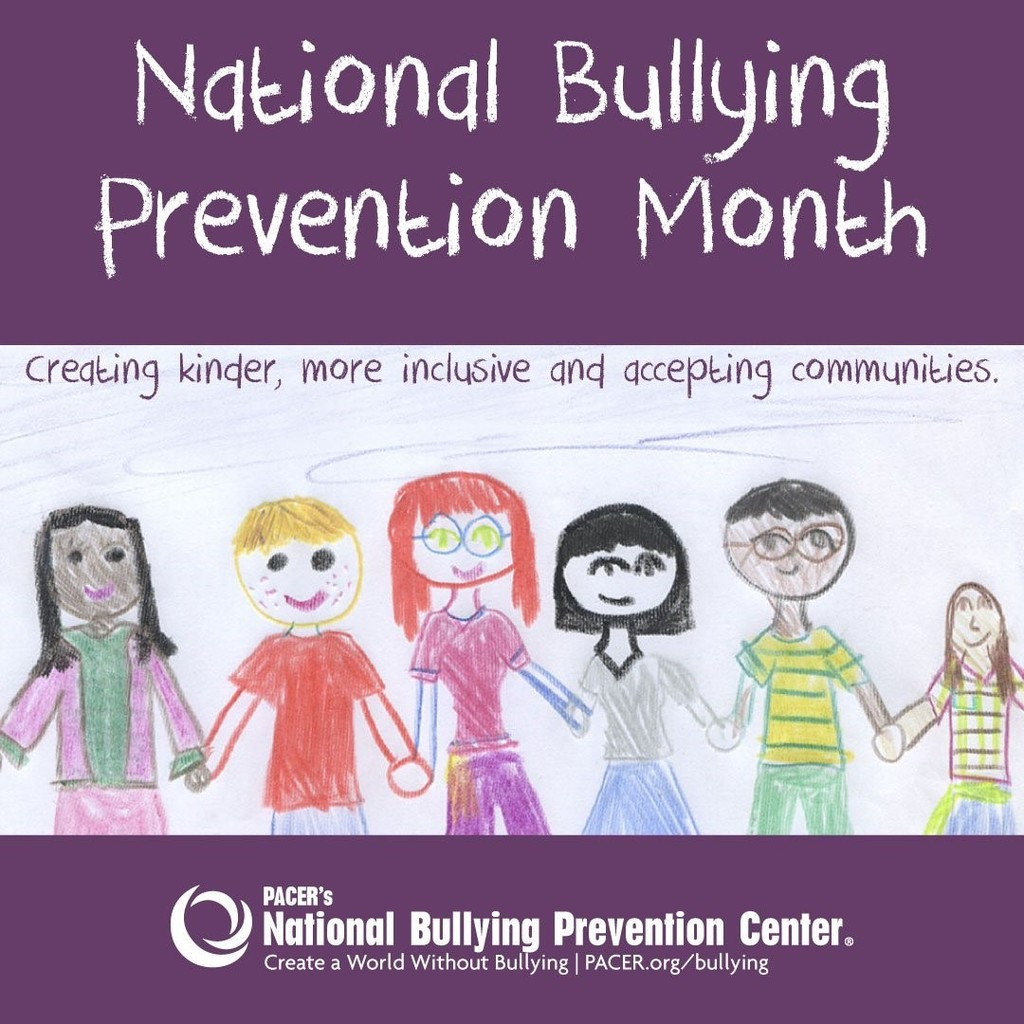 National Bullying Prevention Month graphic
