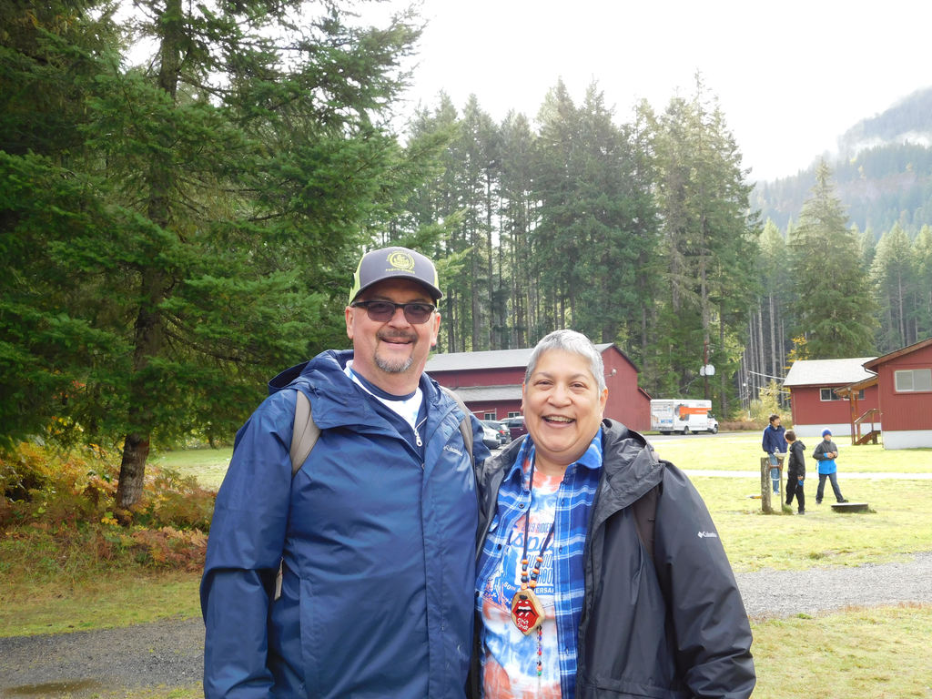 Bill and Susan Yaddof at Cispus Outdoor School