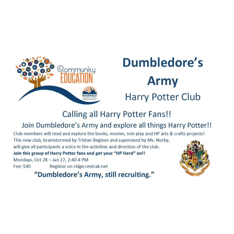 Dumbledore's Army - Harry Potter Club