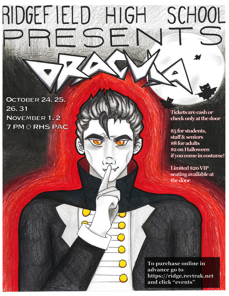 "RHS Theater production of ""Dracula"""