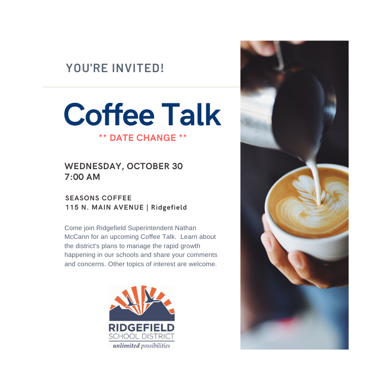 Coffee Talk Wed, Oct 30th