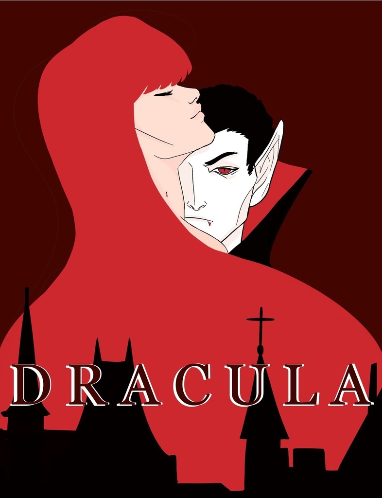 "Poster for RHS theater production of ""Dracula"""