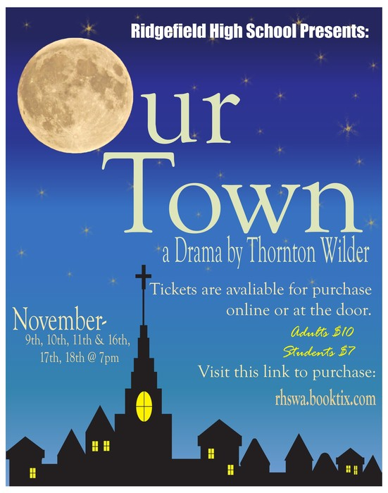 Our Town Promotional Poster