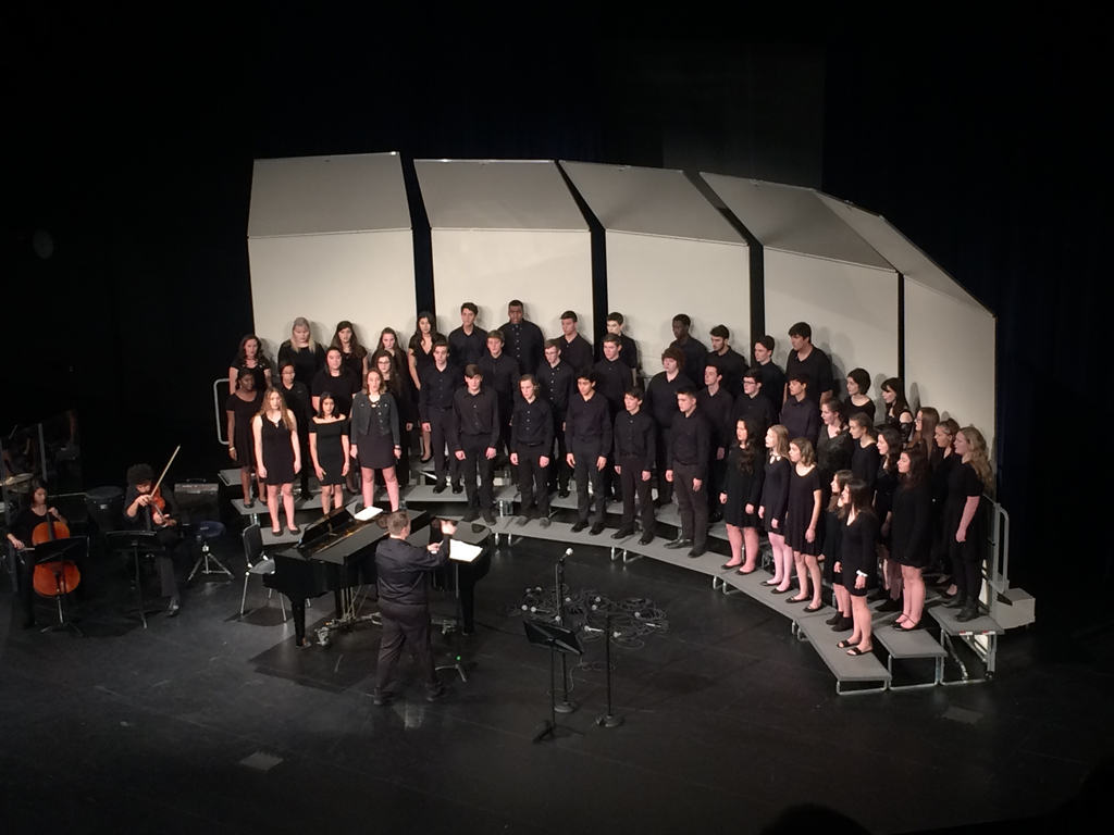 Concert Choir at November 14 concert
