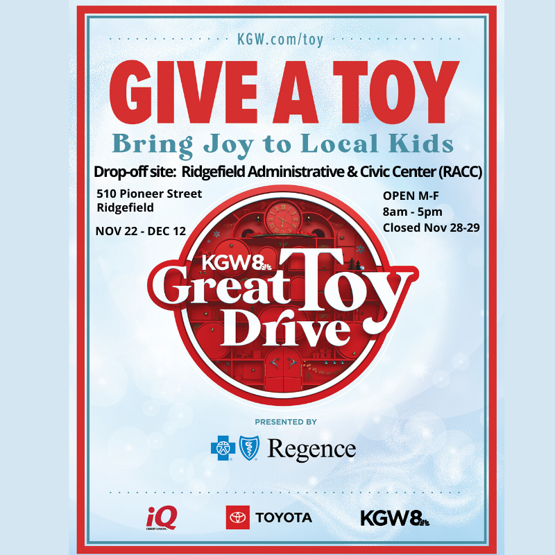 KGW Great Toy Drive 2019 flyer