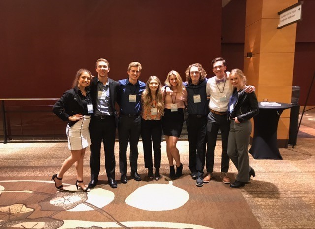 Students at 2017 DECA Fall Leadership Conference