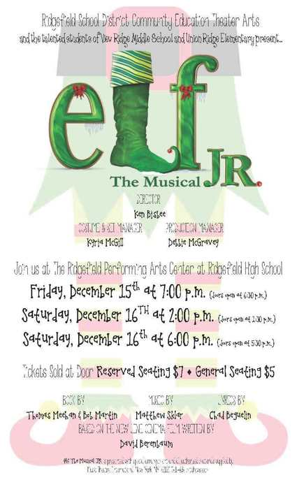Elf Jr. flyer 2017