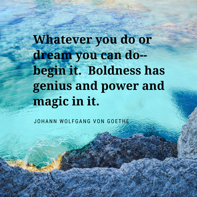Quote from Johann Wolfgang von Goethe