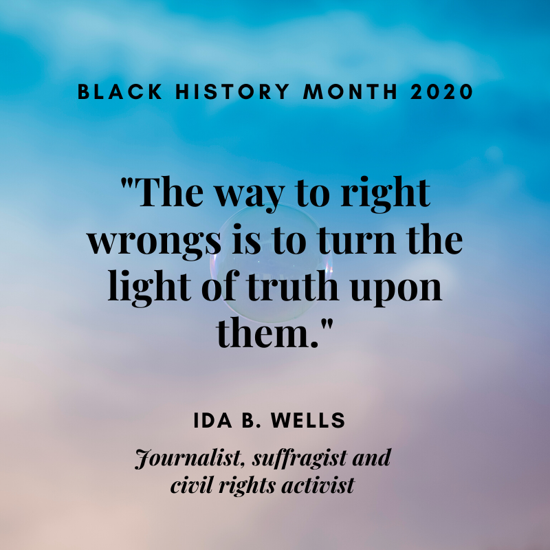 Quote from Ida B. Wells
