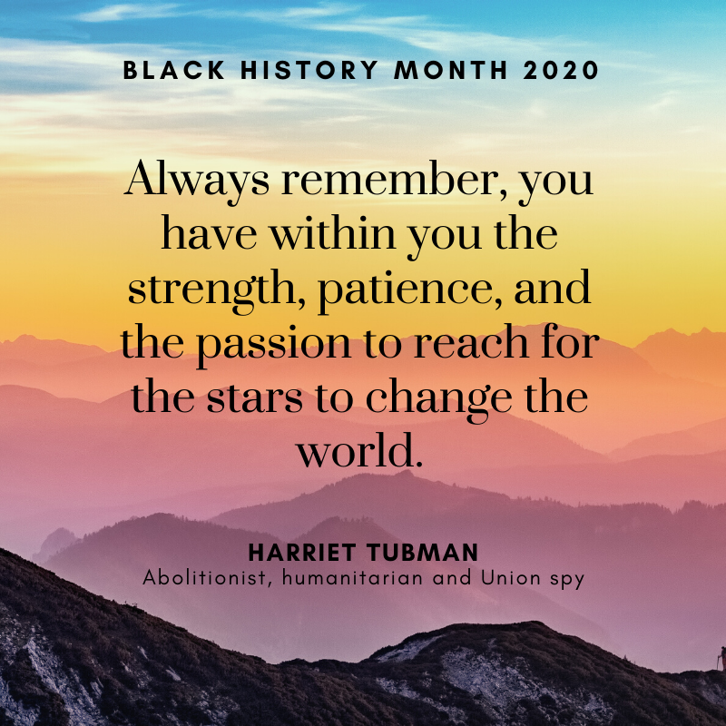Quote from Harriet Tubman
