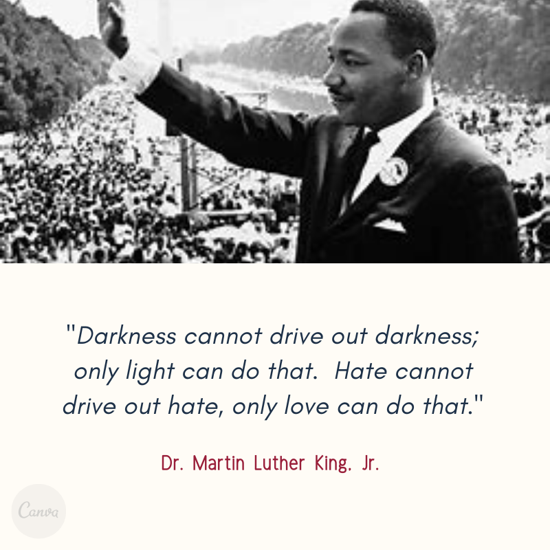 Quote from Martin Luther King, Jr.