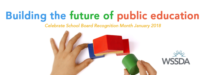 School Board Recognition Month Graphic