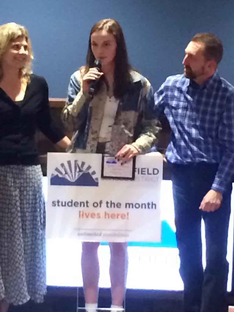 Tegan Petersen—February Student of the Month