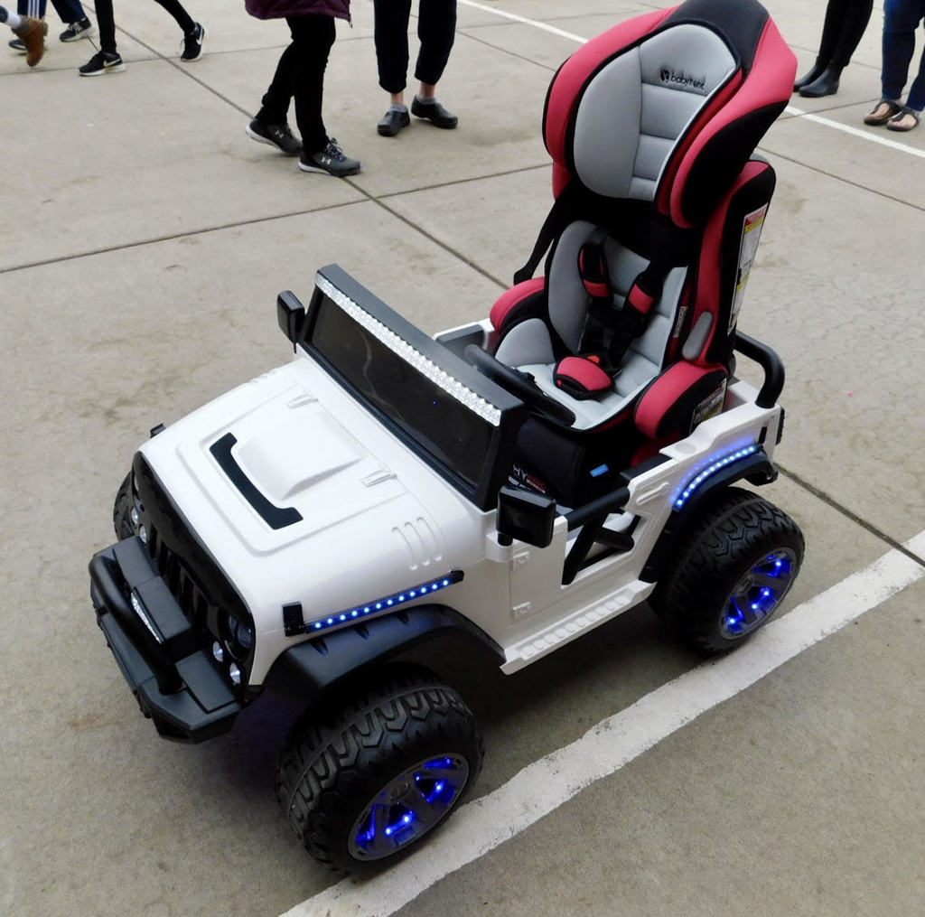 CAPS customized adaptive car for mobility-challenged students