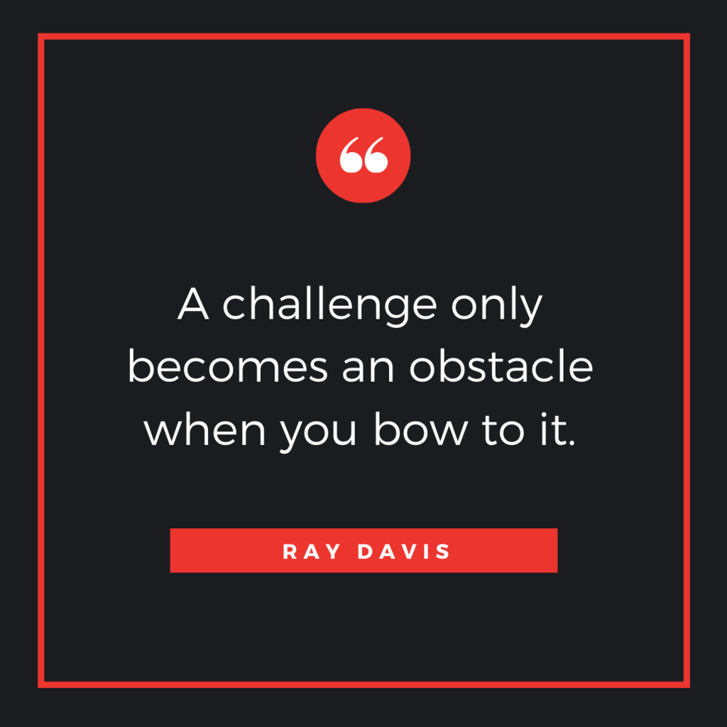Quote by Ray Davis
