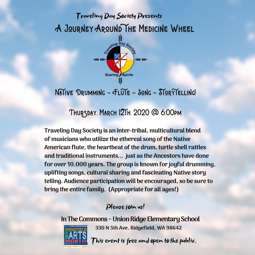 "Flyer for ""A Journey Around the Medicine Wheel"""