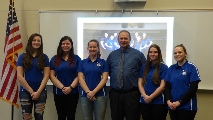 RHS Girls Bowling Team - 2A WIAA Academic State Champions