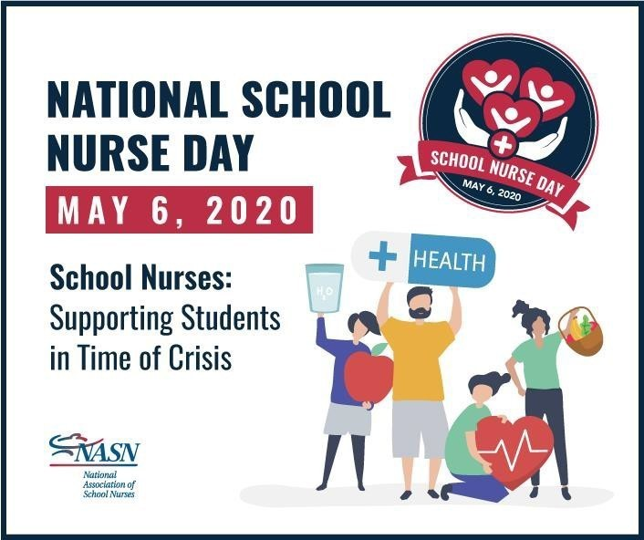 National School Nurse Day 2020 graphic