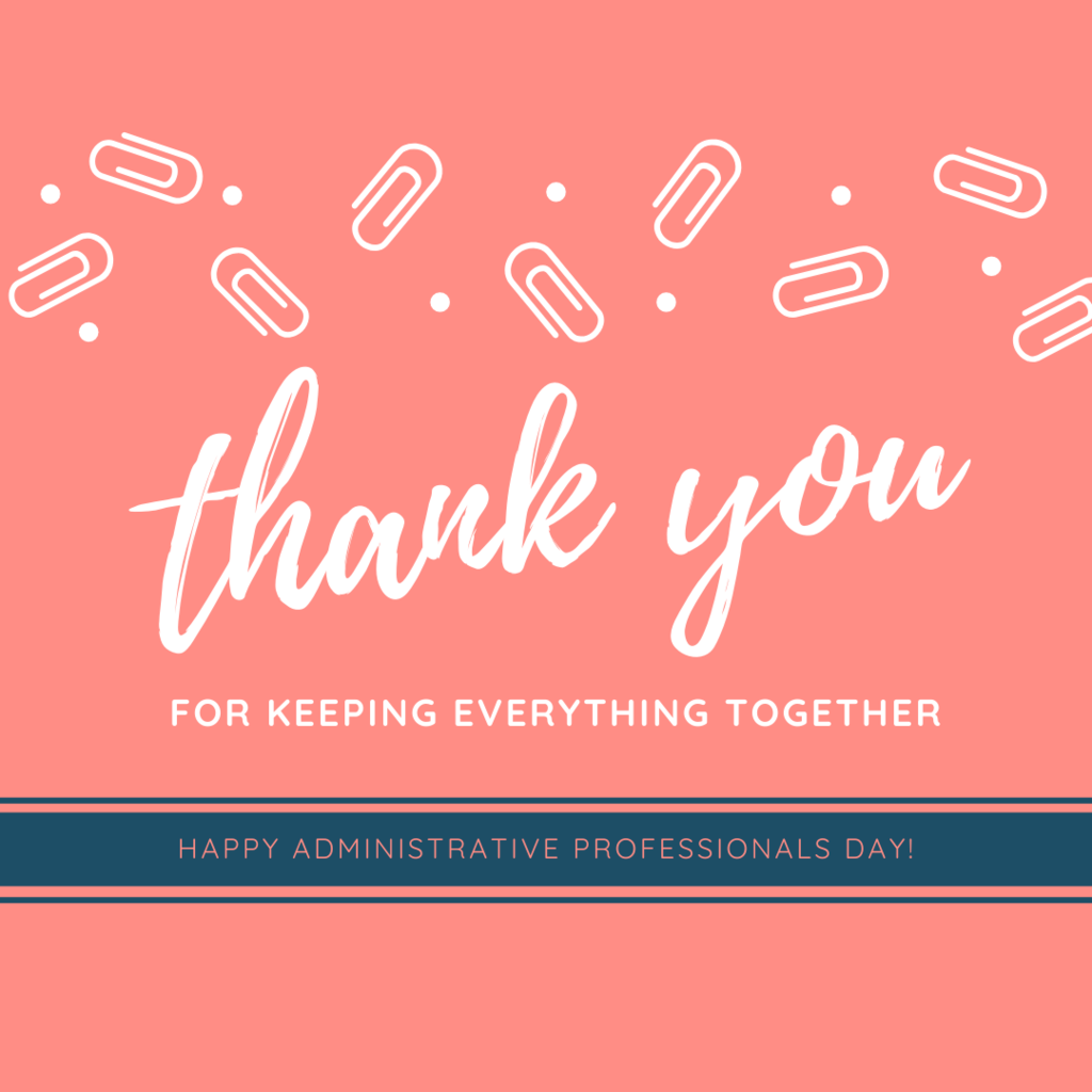 Administrative Professionals Day 2020 graphic