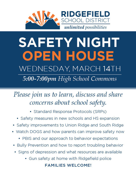 RSD Safety Night Poster