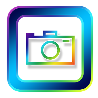 Camera icon gaphic