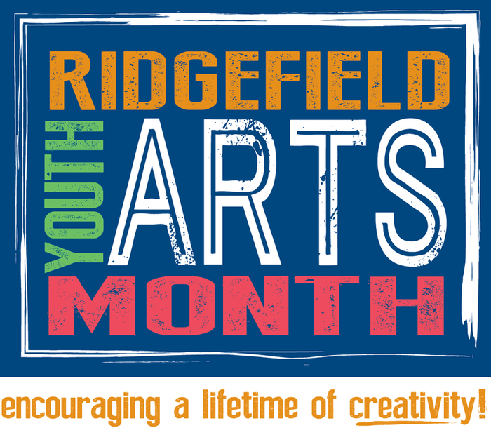 Ridgefield Youth Arts Month logo
