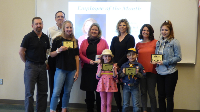 Employee and Students of the Month March 2018