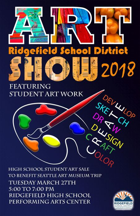District Art Show poster