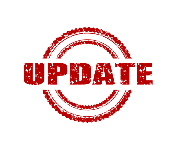 Update graphic by Gerd Altmann from Pixabay