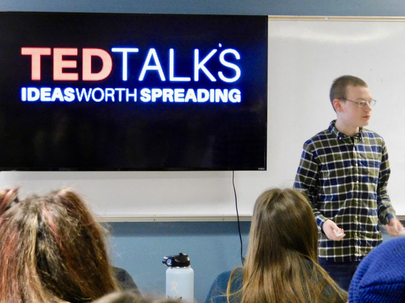TED Talk Project Showcases Students' Interests, Inspirations and Ideas