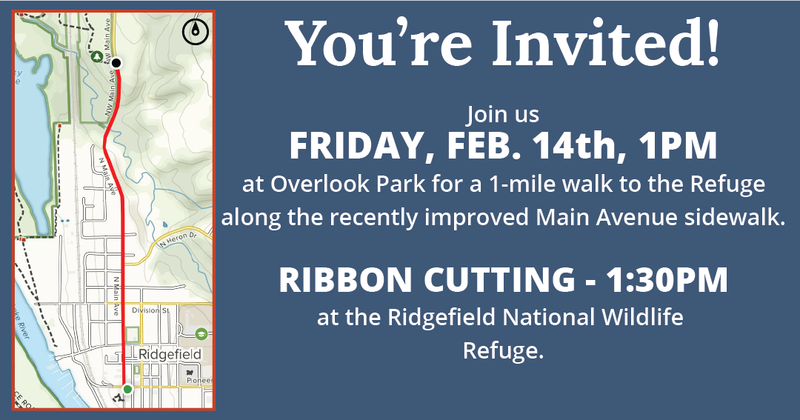 Main Street Access Project Ribbon-Cutting Set for February 14