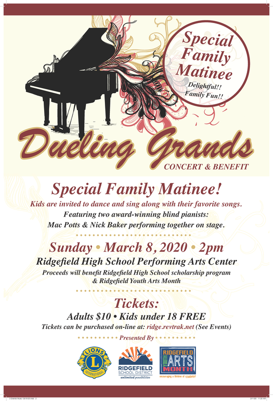 """Dueling Grands"" Benefit Concerts Set for March 8th"