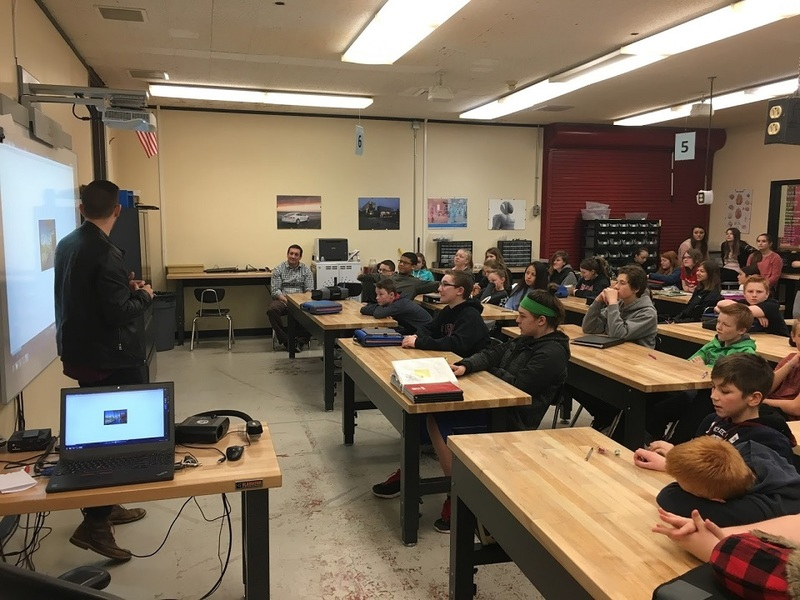 Ridgefield Middle Schoolers Take a Shot at New School Design