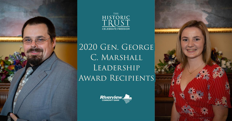 RHS Student, Grace Melbuer, Named Youth Recipient of 2020 General George C. Marshall Leadership Award