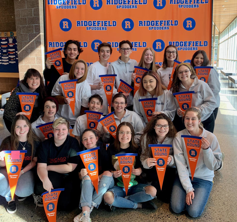 RHS Thespians Awarded Bronze Level Honors in State Competition