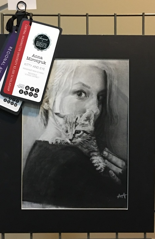 Ridgefield High School Students Win Top Awards at Regional High School Art Show