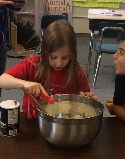 Ridgefield Second Graders Inspired by Cooking Lessons in Class