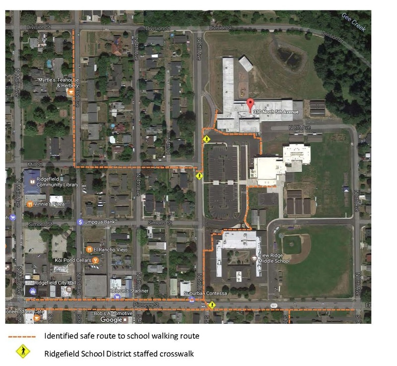 District Approves Safe Route to School Plan for Union Ridge Elementary
