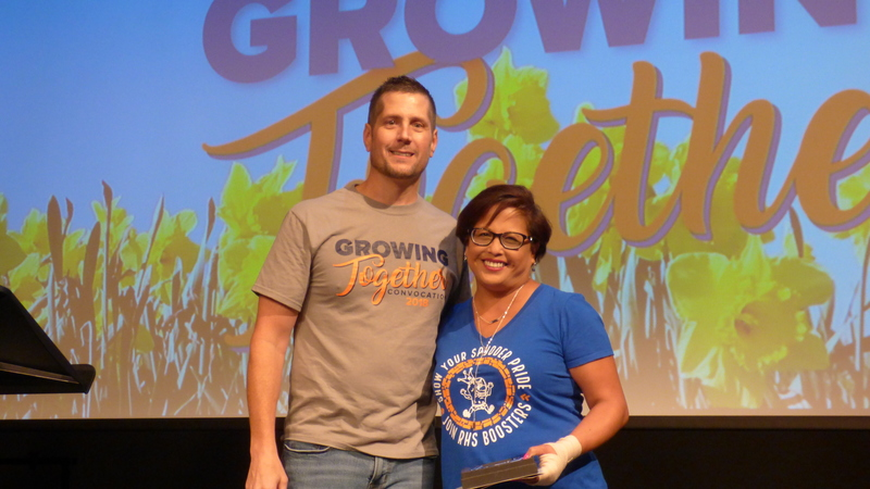 Employees of the Year Honored at Ridgefield School District's Convocation Event