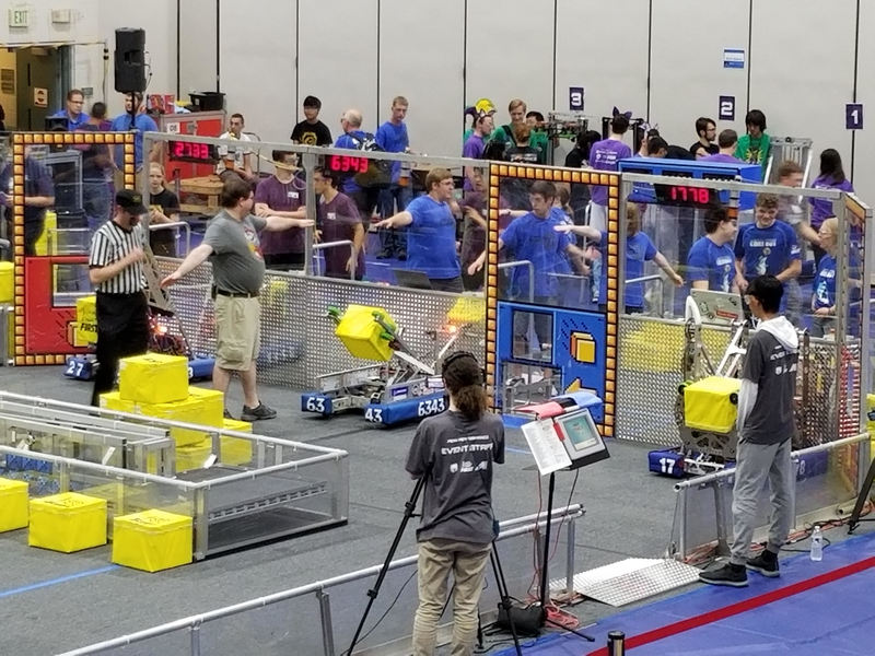 Robotics Team Runs on Student and Mentor Power