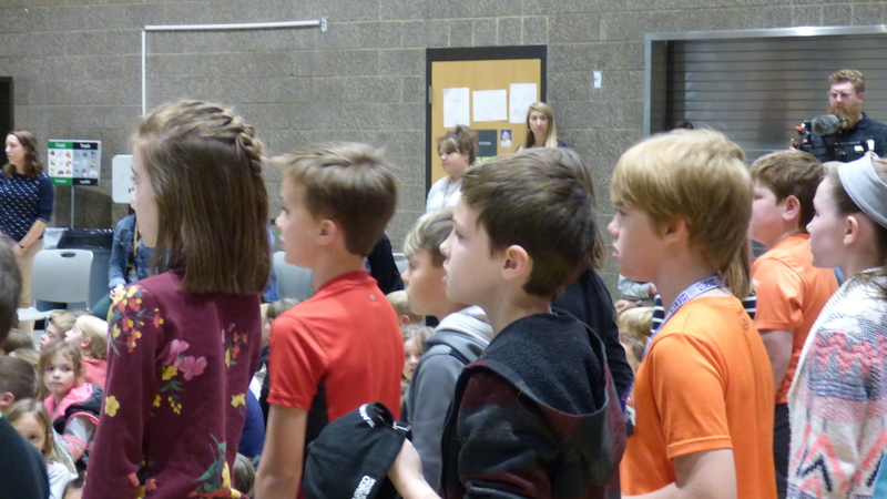 Ridgefield School District Honors Veterans at School Assemblies