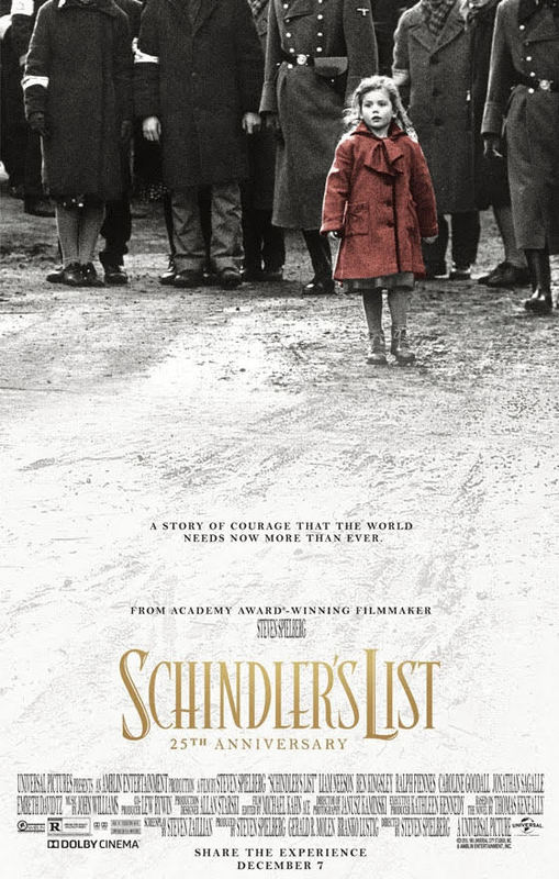 RHS Students Attend 25th Anniversary Screening of Schindler's List