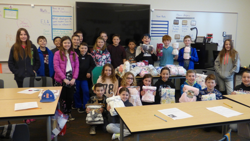 Ridgefield Fifth Graders Pay Kindness Forward