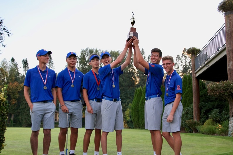 Stellar Year for Ridgefield High School Golf Team