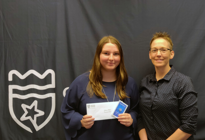 Sabrina Black Awarded Scholarship from Cascadia Technical Academy