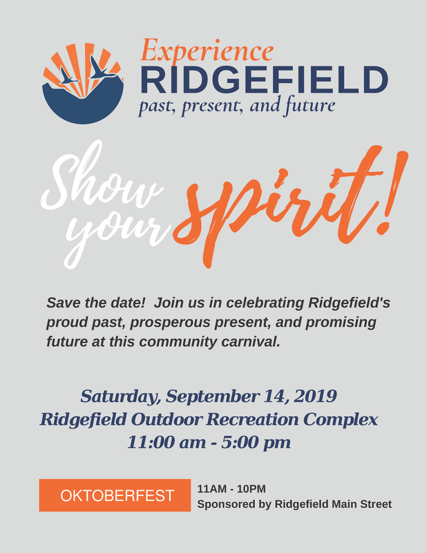 Experience Ridgefield Set for Saturday, September 14