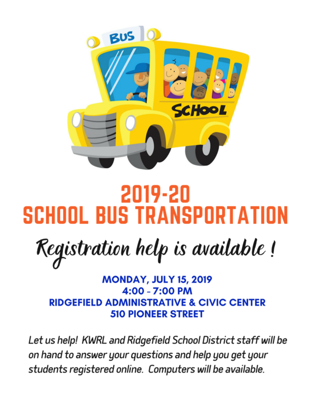 Register Soon for 2019-20 School Bus Transportation