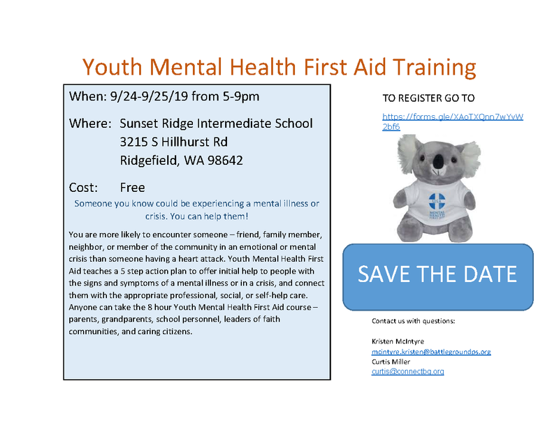 Free Training Teaches First Aid for Mental Health